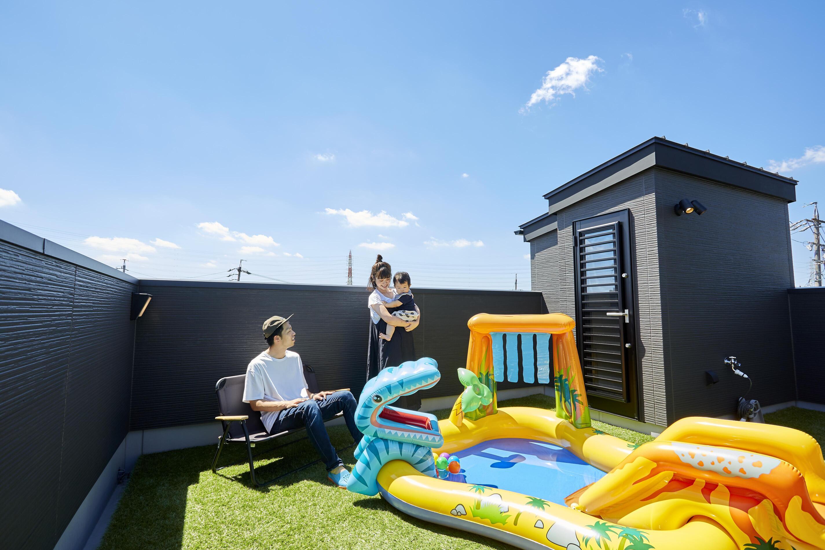 屋上にお庭がある家の魅力とは?屋上のメリットデメリットを解説