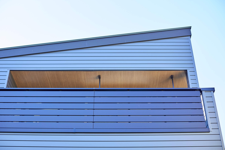 メンテナンス性にも優れた外壁を採用し、住宅のライフサイクルコストにも配慮している
