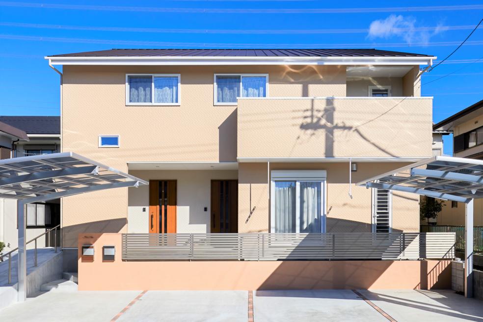 実用性にこだわった全館空調搭載の二世帯住宅